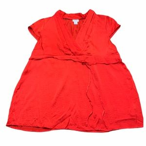 Motherhood Maternity Red Top Extra Large